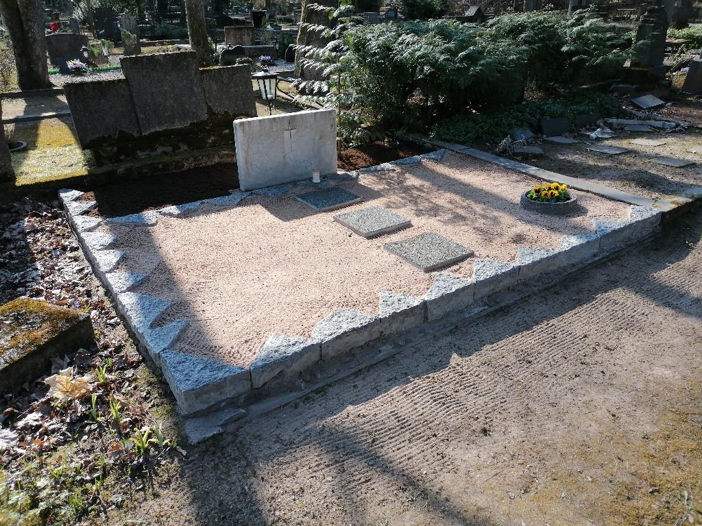 Renoveerimine Tartu Raadi kalmistul PÄRAST foto