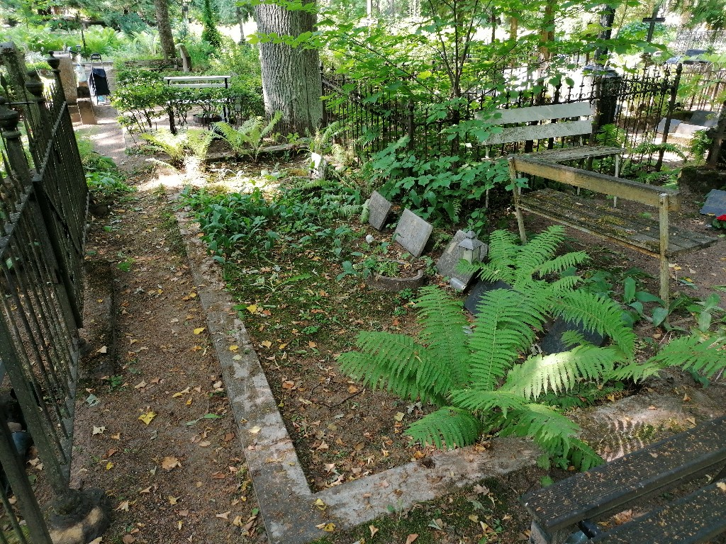 Renoveerimine Tartu Raadi kalmistul ENNE