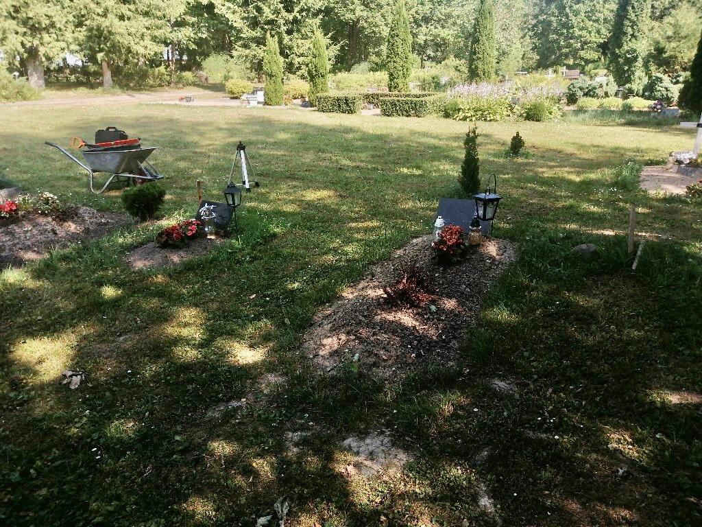 Renoveerimine Mäetaguse kalmistul ENNE