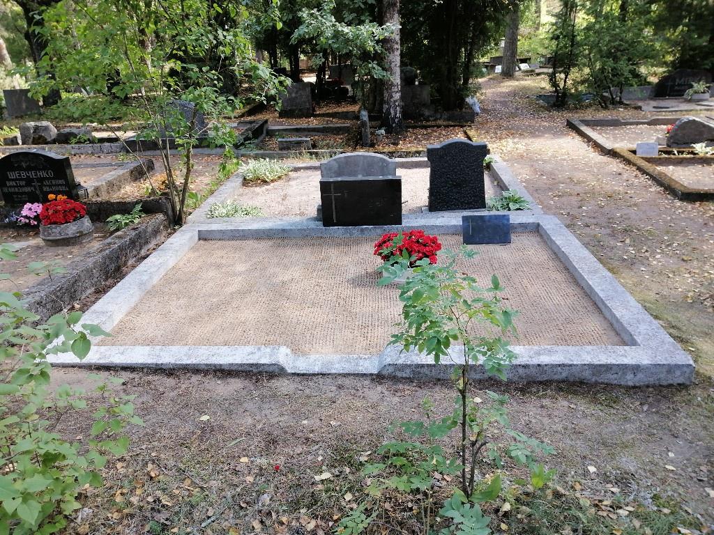 Renoveerimine Rahumäe kalmistul PÄRAST