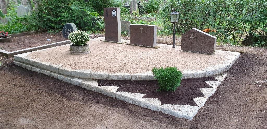Renoveerimine Pärnamäe kalmistul PÄRAST