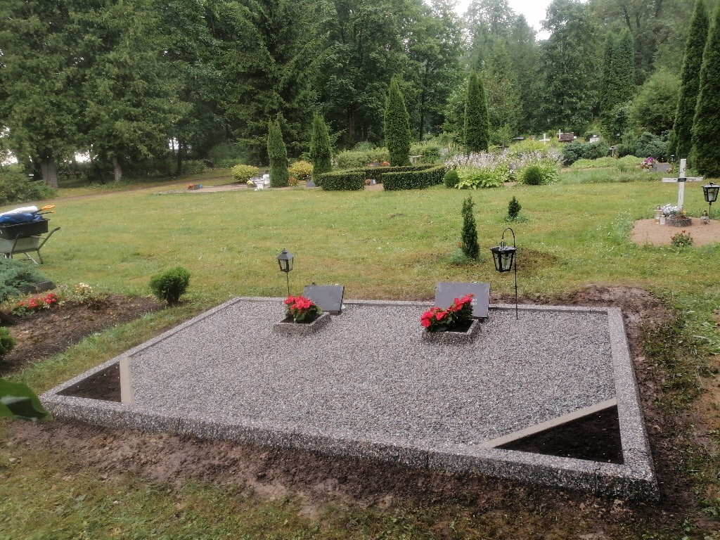 Renoveerimine Mäetaguse kalmistul PÄRAST