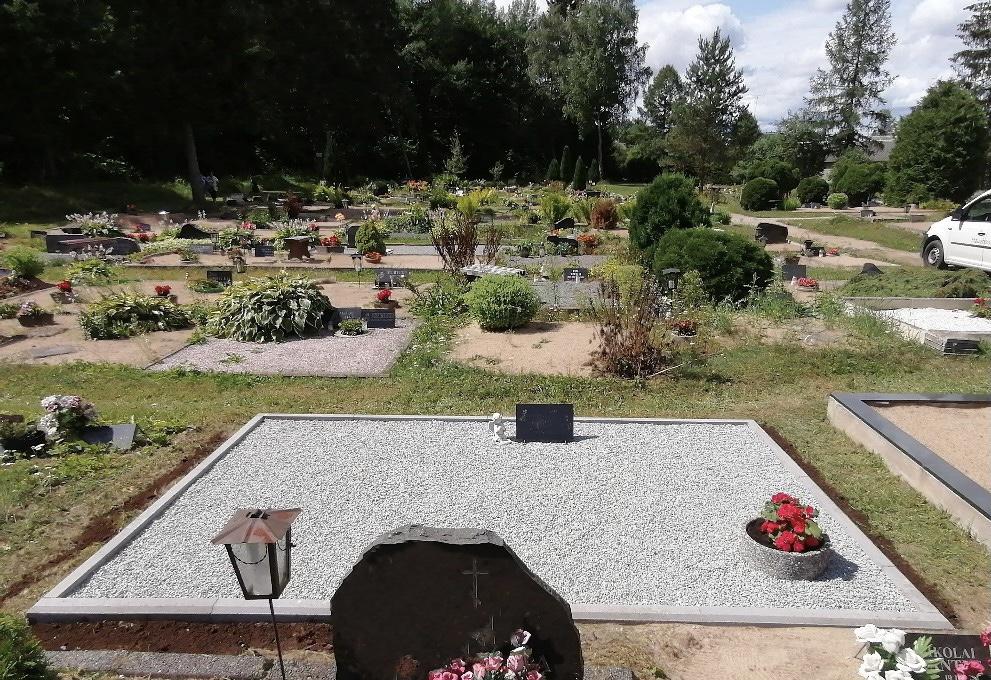 Renoveerimine Tamsalu kalmistul PÄRAST