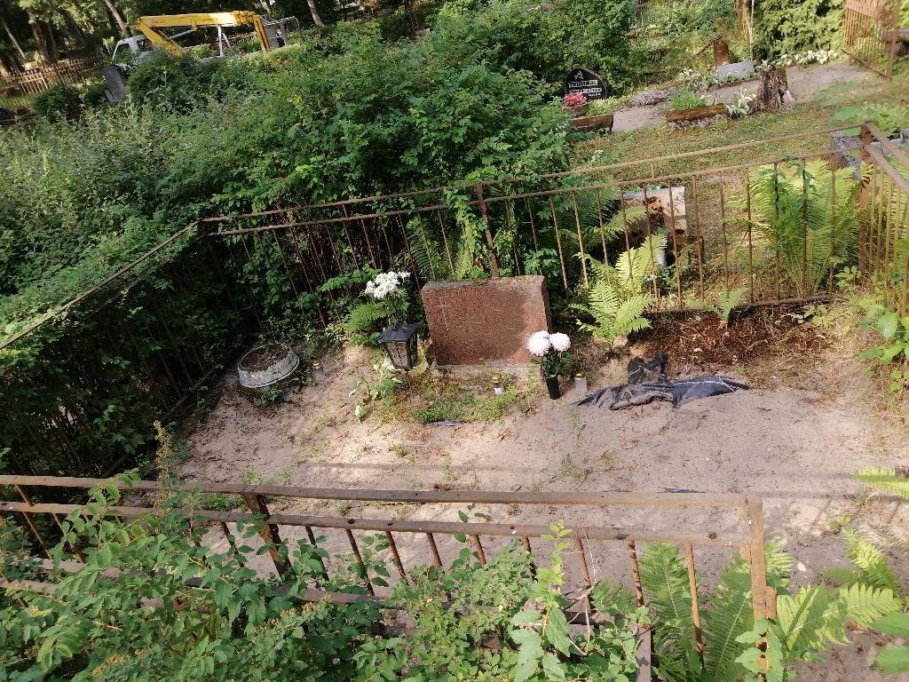 Renoveerimine Siselinna kalmistul ENNE